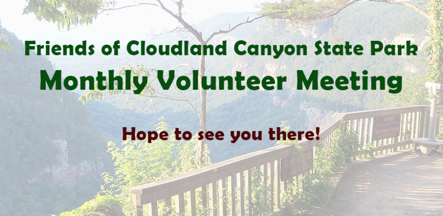 Volunteer Meeting – Thursday, Feb. 22nd